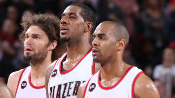 Video - Blazers Bench Comes Up Big