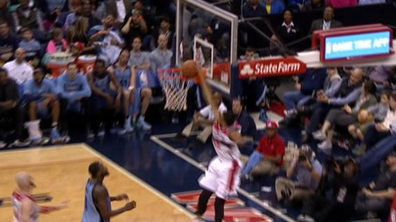 Video - Porter Misses Dunk