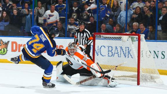 Video - Blues Blank Flyers In Shootout