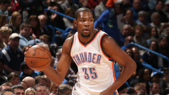 Video - Thunder Will Have To Adjust For Durant's Return