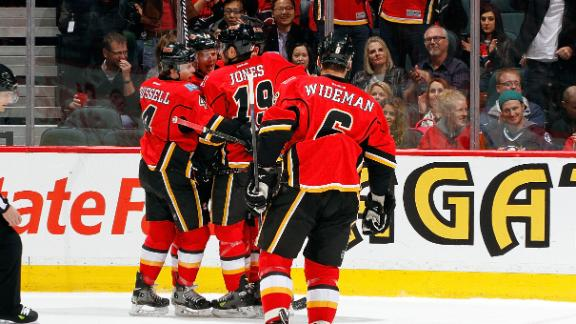 Video - Flames Double Up Ducks