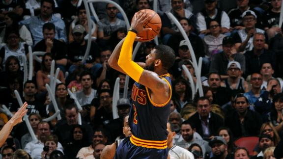 Video - Icing On The Cake For Irving's Night