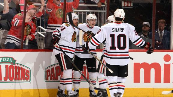 Video - Blackhawks Use Extra Man Well In Win