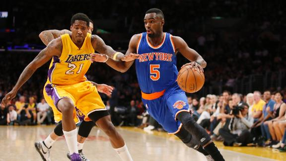 Video - Hardaway Carries Knicks Past Lakers