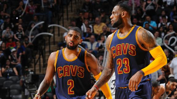 Video - LeBron, Kyrie Talk Cavs Win