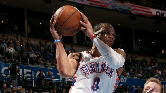 Video - Westbrook Nets Triple-Double