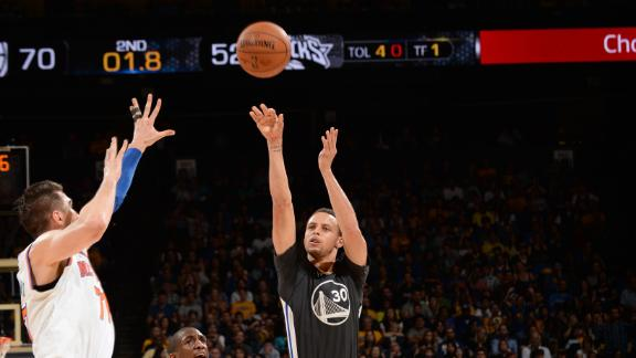 Video - Birthday Boy Curry Beats The Halftime Buzzer