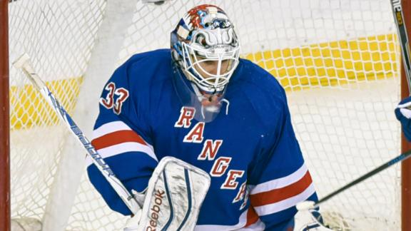 Video - Talbot Carries Rangers Past Panthers