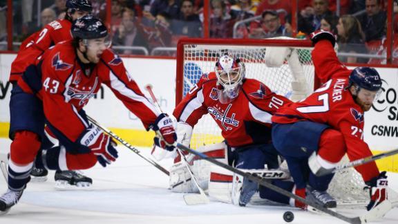 Video - Caps Stop Bruins' Hot Streak
