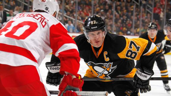 Video - Red Wings Crush Penguins In Crosby's Return