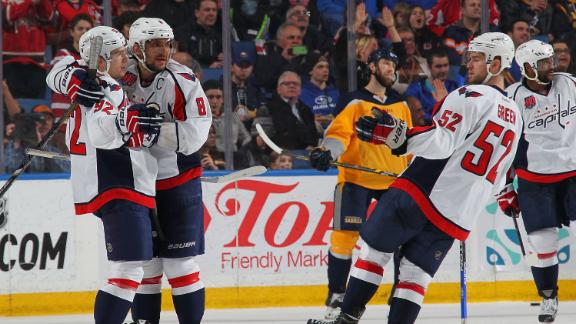 Video - Capitals Edge Sabres In Shootout