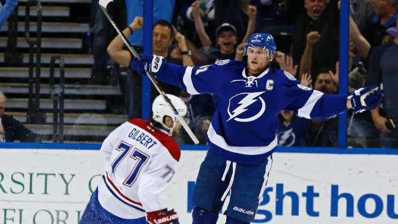Video - Stamkos, Bolts Muscle Past Habs