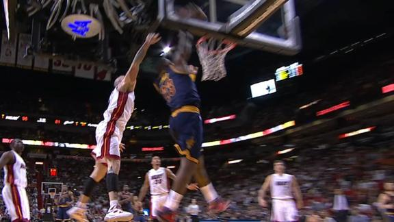 Video - LeBron's Punishing Dunk