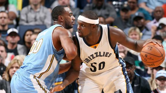 Video - Grizzlies Beat Short-Handed Nuggets