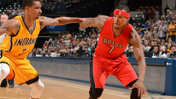 Video - Lowry Leads Raptors To Win