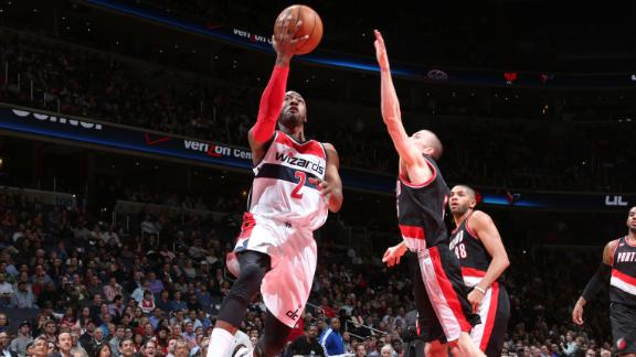 Video - Wall, Beal Lift Wizards Past Blazers