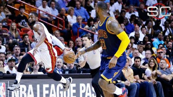 Video - Wade-Led Heat Stun Cavs, LeBron