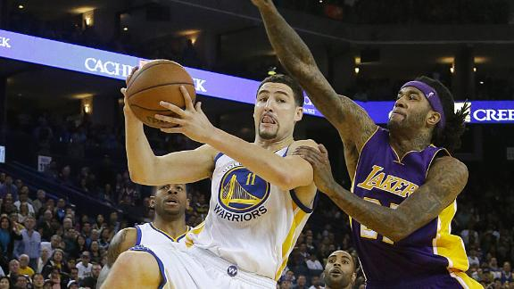 Video - Warriors Fend Off Lakers