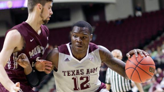 Texas A&M gets 81-64 win over Montana in NIT