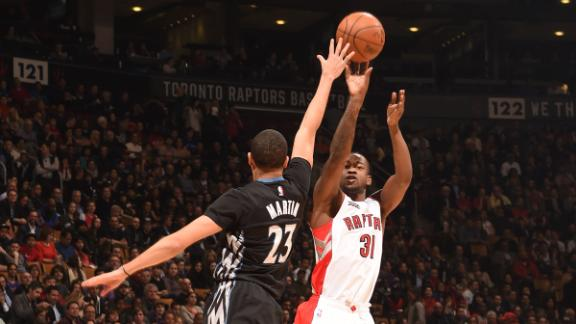Video - Raptors Hold Off Wolves