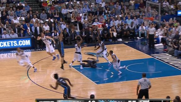 Video - Rondo's No-Look, Over-The-Head Pass