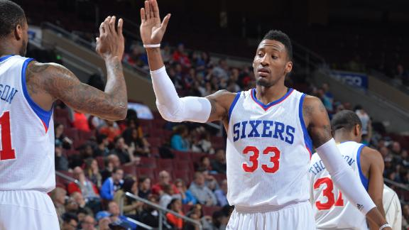Video - 76ers Stun Pistons