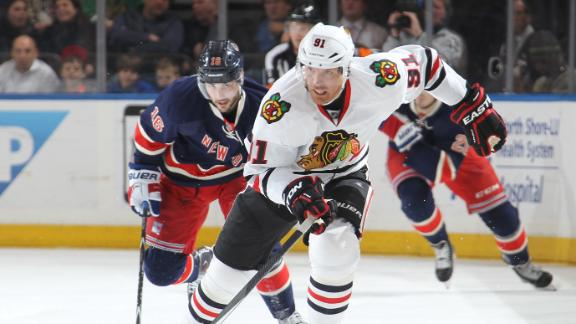 Video - Blackhawks Blank Rangers