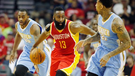 Video - Harden Drops 50 Against Nuggets
