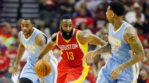 Video - Harden's First Career 50 Point Game