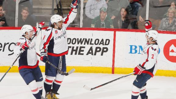 Video - Ovechkin Extends League Lead In Goals