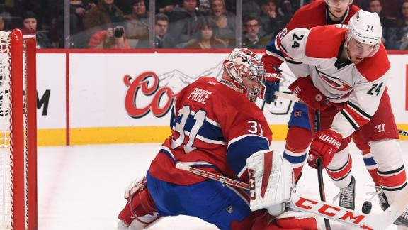 Video - Canadiens Blank Hurricanes