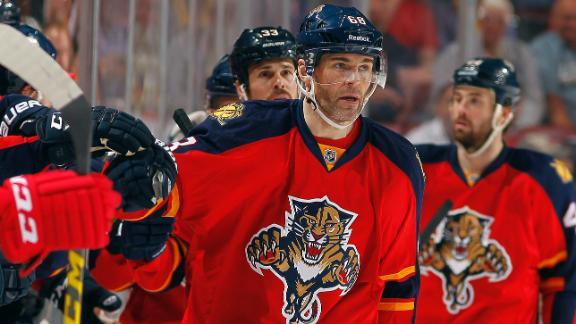 Video - Jagr Helps Panthers Top Red Wings