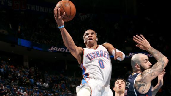 Video - Westbrook, Thunder Topple Hawks