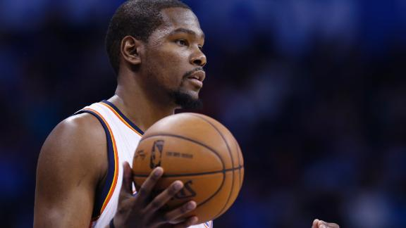 Video - Is Durant Being Shut Down For The Season?
