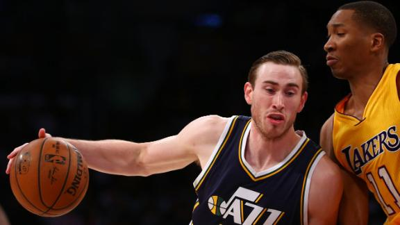 Video - Hayward Leads Jazz Past Lakers