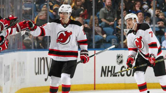 Video - Bernier Scores Twice In Devils' Win