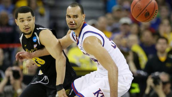 Shockers Upset Jayhawks, Reach Sweet 16