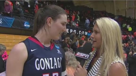 Emma Wolfram Leads Gonzaga To Upset
