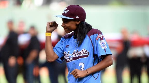 Mo'ne Davis Asks Bloomsburg To Reinstate Player