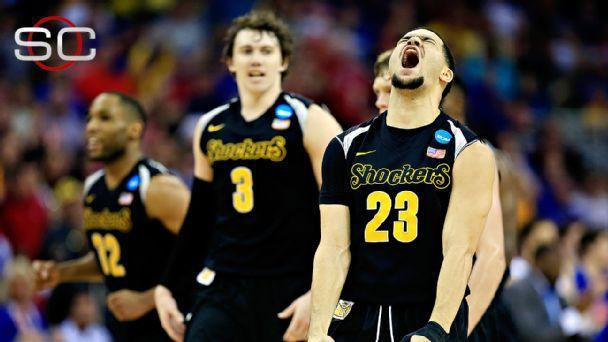 Wichita State Shocks Kansas