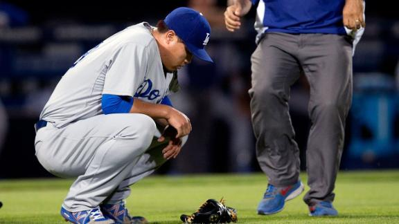 Ryu Injury Cause For Concern For Dodgers