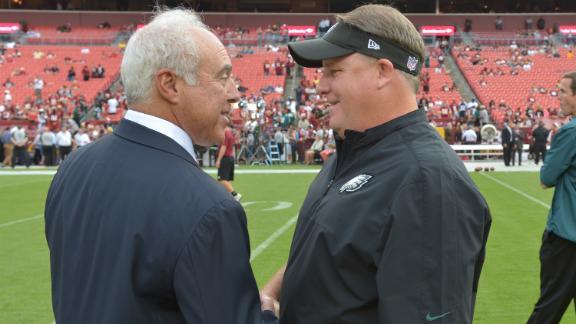 Eagles Owner Explains Chip Kelly's Promotion