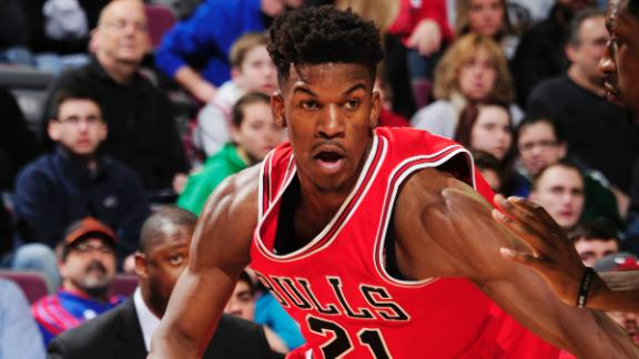 Butler, Bulls make it 5 straight over Raptors