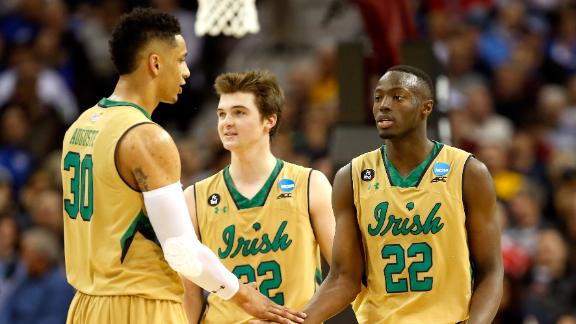 Notre Dame Goes On A Run To Top Wichita State