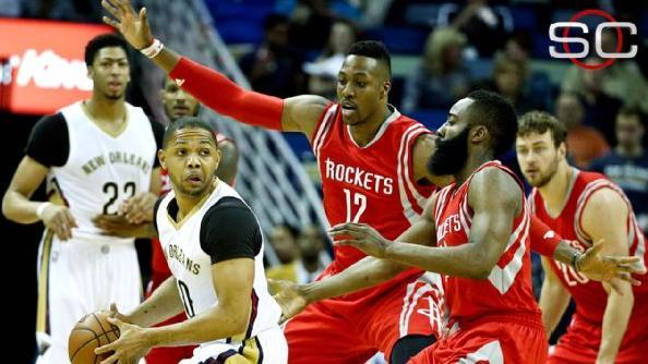 Rockets Win In Dwight Howard's Return