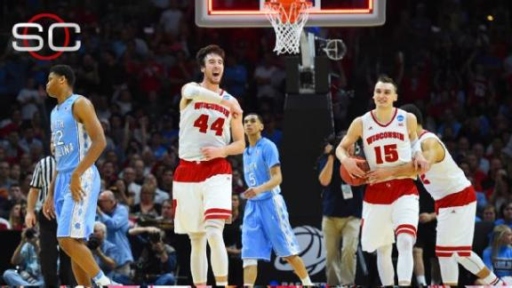 Wisconsin Fends Off UNC