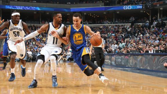 Splash Brothers, Warriors Rout Grizzlies