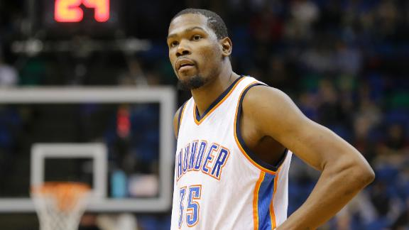 Durant Injury A Huge Blow To Thunder