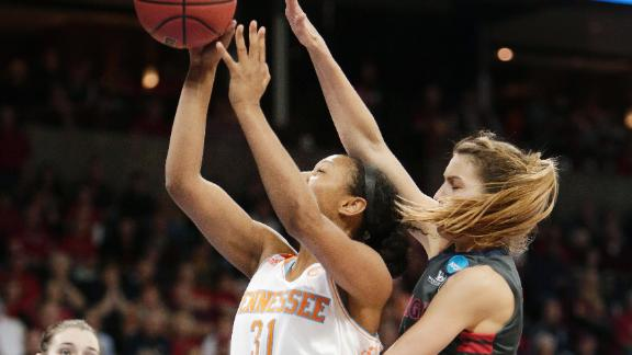 Lady Vols Turn Up Pressure In Time