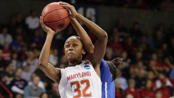 Walker-Kimbrough Leads Terps To Elite Eight